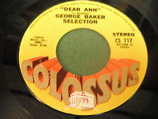 George Baker Selection: Dear Ann / Fly 45