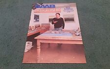 1982 SAAB SCENE VOLUME 5 NUMBER 2 inc 900 96 99 & TURBO - UK BROCHURE