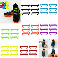 Shoes Buckles Closure Casual Sneaker Snap-in Shoelace No-Tie Magnetic -Black