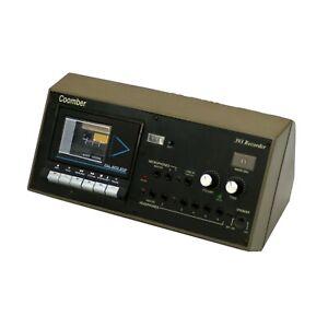 Vintage Coomber 393-7 Cassette Tape Recorder