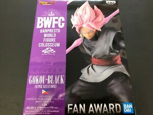 Dragon Ball Z BANPRESTO WORLD FIGURE COLOSSEUM 2 BWFC Goku Black ROSE Figure