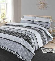 3Pcs Duvet Set Quilt Cover with Pillow Cases Reversible Bedding Set Lola Spice