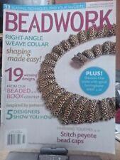 BEADWORK MAGAZINE  DIY Jewelry Design Projects BOOK beading NECKLACE Bracelet