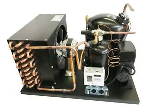 New! Outdoor Condensing Unit, 3/4 HP, High Temp, R134a, 115V (Embraco NJ6220Z1)
