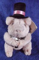 *1916*  Lord Dumpling pig (#638) - 17cm - Russ Berrie - plush - tag
