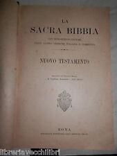 LA SACRA BIBBIA NUOVO TESTAMENTO Introduzione e Vangelo di Matteo Pontificia di