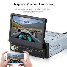 "7"" 1 din Autoradio Car Mediaplayer mit Faltbar Bildschirm GPS Navigation DAB+ EU"