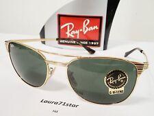 RayBan Signet 3429M 001 58/19 Arista Gold Lens G15 Sunglasses Sunglasses
