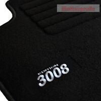 Peugeot 3008 ab Bj.06/2009 - Velours Edition Fußmatten 3-teilig Autoteppiche sw