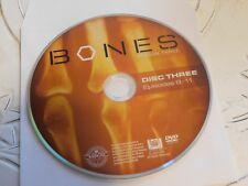 Bones Third Season 3 Disc 3 Replacement DVD Disc Only 65-24