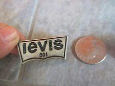 2 levis 801 Logo Metal EMBLEM Stud PINS