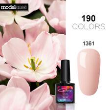 MODELONES 10ML 190 Colors Gel Art UV Nail Polish Soak Off Top Base Coat Varnish
