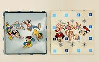 2002 Disney MGM Studios Spectacle Of Pins Fab Six Skating Ski 4 Pin Set RARE