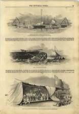 1845 le imbarcazioni di salvataggio CAPITAN jerningham Henry GRANDE TESTA