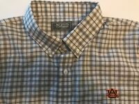 NWT Auburn Tigers Southern Collegiate Mens 2X XXL Long Sleeve Button Up Shirt