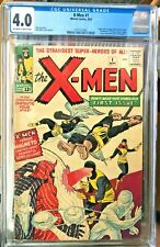 X-men 1 CGC 4.0 Off White/White Pages SMOKING HOT BOOK! Presents as good as 6.5!