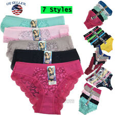 Lots of 5 Womens Hipster Boyshort Girl Panties Bikini Cotton Underwear M,L,XL(3)