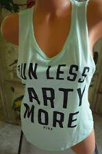 Victoria's Secret Love Pink XS t shirt tank top run less party more