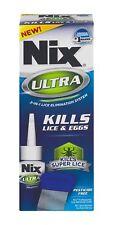 Nix Ultra Para Eliminar Piojos Liendres Huevos Cabello Cama Solución Rápido