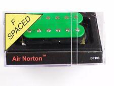 DiMarzio F-spaced Air Norton Humbucker Green W/Chrome Poles DP 193