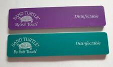 NSI Sand Turtle Fine Extra Nail Acrylic Gel 120 220 Grit File Buffer
