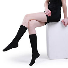 1pair Women Slimming Current Miracle Shape Legs Compression Cotton Soft Socks