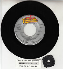 KC & THE SUNSHINE BAND That's The Way (I Like It) 45 record + juke box strip NEW
