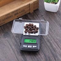0.01g / 200g Gram Digital LCD Balance Weight Pocket Jewelry Diamond Scale Black