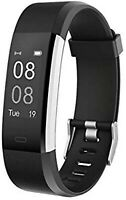 Wilfull Fitness Tracker Armband Smartwatch Wasserdicht IP68 für iOS und Android