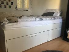 Ikea Betten Mit Bettkasten Günstig Kaufen Ebay