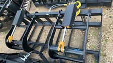Skid Steer 72 Inch  Brush Grapple Bobcat Caterpillar Gehl Mustang