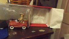 Marie Osmond Fine Collectibles Signed And Numbered Marie In Old Fashion Car