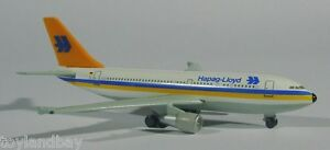 Herpa 500913 Hapag Lloyd Airbus A310-300 1:500 Scale Diecast RETIRED 1994 New