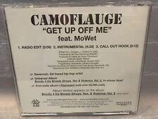 CAMOFLAUGE Get Up Off Me (CD, PROMO Single)