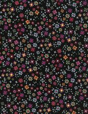 Timeless Treasures Fun C4341 Ditsy Daisy 100% cotton fabric by the yard