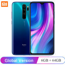 6.53'' FHD Xiaomi Redmi Note 8 Pro 6GB 64GB 64+20MP Octa Core NUOVO CELLUALRE EU
