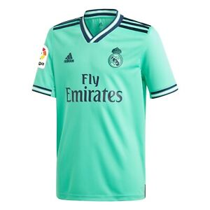 adidas Real Madrid 2019/20 Third Replica Jersey Youth Green