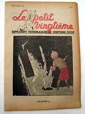 TINTIN HERGE LE PETIT VINGTIEME NO 9 de 1938 BE