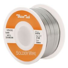 60 40 Tin Rosin Core Solder Wire For Electrical Soldering Sn60 Flux 08mm 100g
