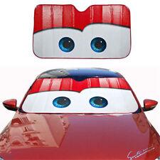 Car Visor Red Color Big Eye Cartoon Windshield Windscreen Cover Sun Shade