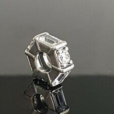 PANDORA Ice Sculpture CZ Baguette Silver Spacer 797529 CZ Post