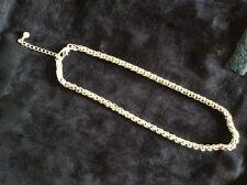 Cabouchon joyas-Plata/rodio plateado collar-Display, nunca usado