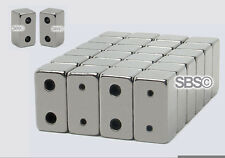 2-Hole Magnetic Jewelry Clasp 6x12mm (Dark Grey) 12 Sets - FREE SHIPPING!