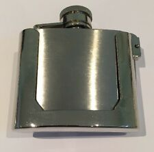New Belt Buckle Flask Stainless Steel 2 Oz Funny