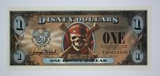 DISNEY $1 DOLLAR 2007 (FE) EMPRESS PIRATES OF THE CARIBBEAN - UNC