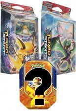 Pokemon XY - Turbostart Themendeck-Feuerfunke+Nachtjäger+Tin Box GRATIS-Deutsch