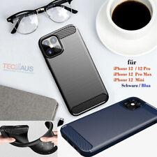 schutzhülle cover carbon case Flexible TPU silicon für iphone 12 / pro max mini