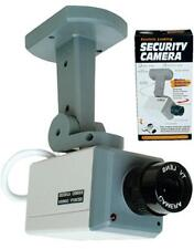 2 Realistic Looking Motion Activate Security Video Camera battery operated dummy