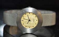 Boccia Gold Textured Dial All Titanium Watch