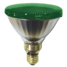 Philips 80W ES/E27 Par38 Green Halogen Flood reflector